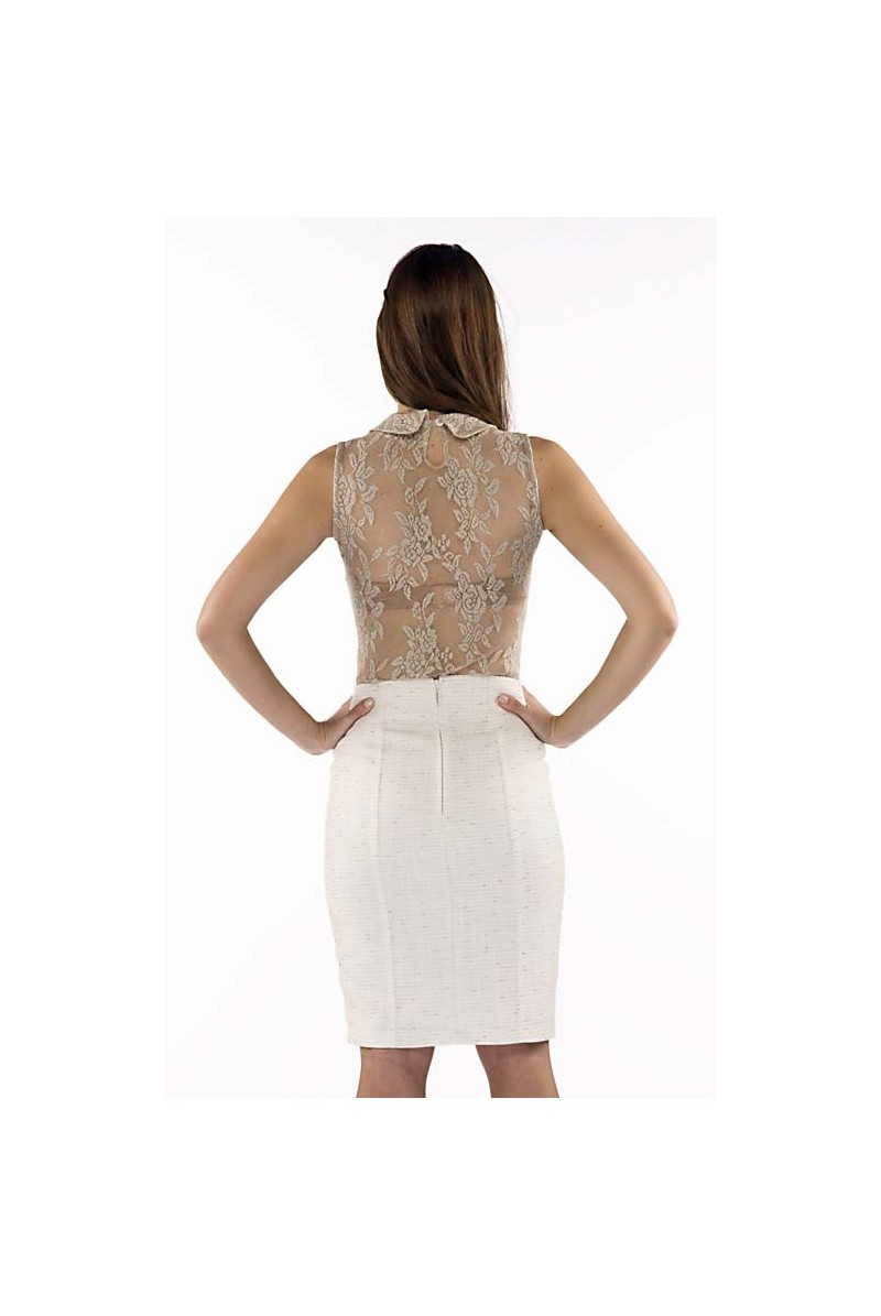 0413dcf325f Φούστα μίντι τύπου chanel - KattiS Fashion | Γυναικεία Ρούχα Online