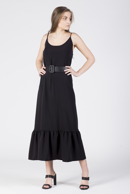 Φόρεμα ραντάκι βολάν