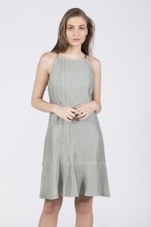 Φόρεμα πλεκτό ραντάκι