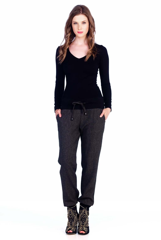 3cd8b8929ec0 Παντελόνι σαλβάρι τουϊντ - KattiS Fashion